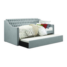 Homelegance Tulney Daybed With Trundle, Gray