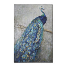 """""""Peacock Alley"""" Oil Painting"""