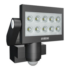 Outdoor PIR Floodlight BLACK