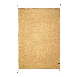 Classic Collection Herringbone Area Rug, Honey Gold, 350x250 cm