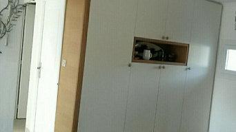 Aménagement meuble de rangement