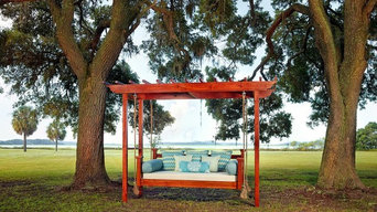 Heart Pine Hanging Bed