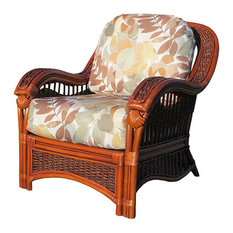 Seascape Arm Chair in Natural, Adobe Fabric