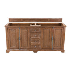 "Providence 72"" Driftwood Double Vanity"