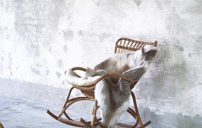 Flettede favoritter: Rattan-møblerne har gjort comeback