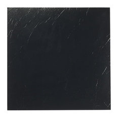 "Nexus Black 12""x12"" Self Adhesive Vinyl Floor Tile, 20 Tiles/20 Sq Ft."