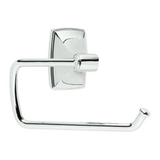 Amerock BH26500 26 Clarendon Toilet Paper Roll Holder, Polished Chrome, 6.375