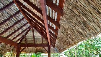 Rectangular Bali Hut