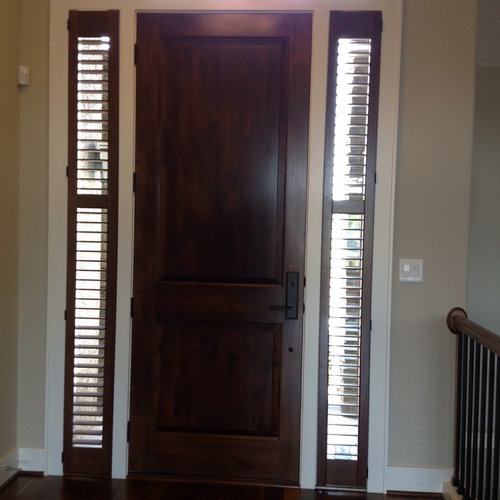 Plantation Shutters For Front Door