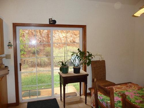 Sliding Glass Door Dilemma Window Treatment