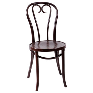Augustus Bentwood Dining Chair, Walnut