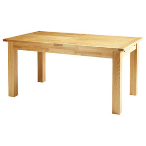 Brent Extendable Oak Dining Table