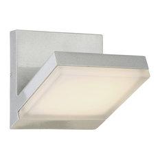 Kovacs P1259-566-L LED Light Wall Sconce - Silver Dust