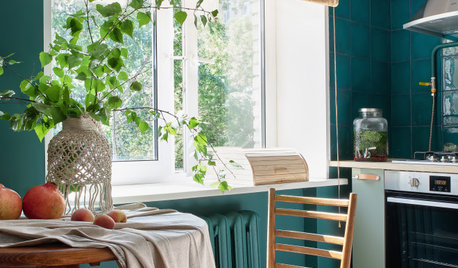 Houzz тур: Квартира в аренду с настроением старой Москвы