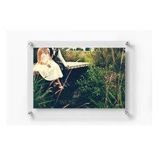 1518D Double Panel Acrylic 15x18  Wall Frame for 11x14 Art