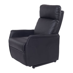 Costway PU Electric Lift Chair Power Recliner Reclining Sofa Lounge Remote