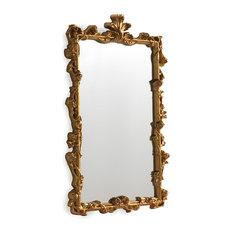 Elena Golden Baroque Mirror, 47x61 cm