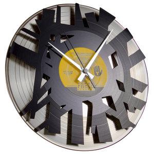 Big Bang Wall Clock, Silver Back