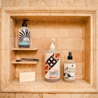 Shampoo Niche with Shelves