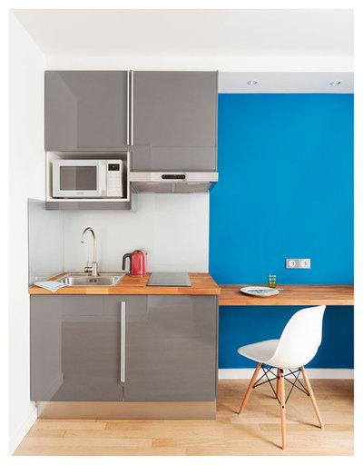 Aménager Un Petit Espace Zoom Sur Trois Studios De Moins De M² - Amenagement cuisine 15m2