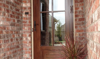Hand Crafted Security Storm Doors