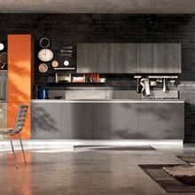 Оттенки оранжевого: сделайте ярче Вашу кухню!