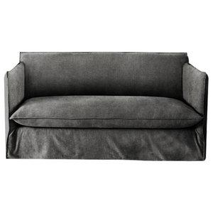 Sophie Sofa Bed, Zinc, 1.5 Seater, 113x186 cm