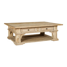 Andante Coffee Table, Hueso