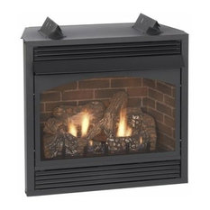 """Vail 36"""" Thermostat Vent Free Premium Fireplace"""