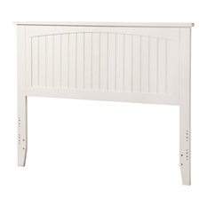 Leo & Lacey Full Panel Headboard In White