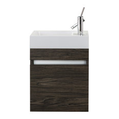 Piccolo Collection 18-inch Space Saver Wall Mount Bathroom Vanity - Tete A Tete