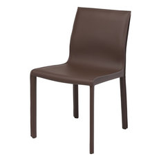 Nuevo Living Colter Dining Chair Mink Leather