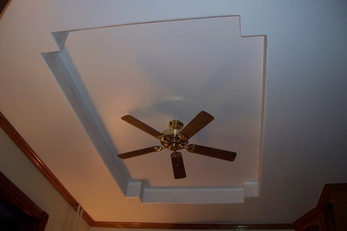 Victorian Vaulted Ceiling Molding