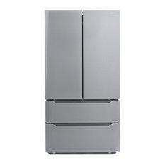 """Cosmo 36"""" 22.5 cu. ft. 4-Door Counter-Depth French Door Refrigerator"""