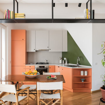 Cucina e Sala da Pranzo   Open space
