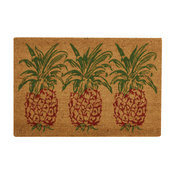 "Waverly Greetings Collection Pineapple Accent Rug, Orange, 1'6""x2'4"""