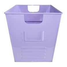 Small Oldschool Storage Bin, Soft Purple