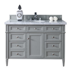 "Brittany 48"" Single Cabinet Urban Gray - Base Cabinet Only"