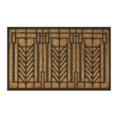 Frank Lloyd Wright Tree Of Life Design Doormat