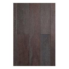 "5/8""x7.5"", Prefinished Engineered Wood Oak Flooring, Black Forest"