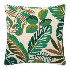 "Loloi Decorative Throw Pillow 22""x22"" Cover Only Green/Multi"