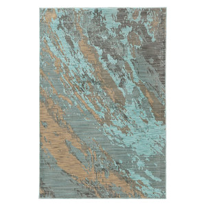 Oriental Weavers Sedona 6367A Blue/Gray, Area Rug, 5'3x7'6
