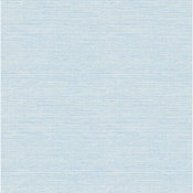 Bluestem Blue Faux Grasscloth Wallpaper