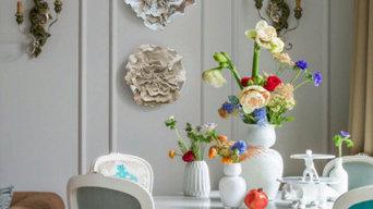Великолепное-цветочный фарфор