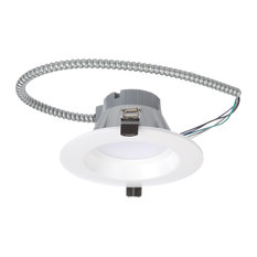 """6"""" Recessed High-Output LED Downlight, Direct to Ceiling Kit, White, 3000K"""