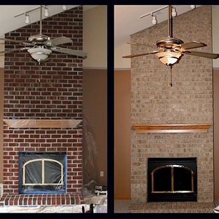 Wisconsin Brick Stain Project