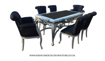 French Rococo Dining set