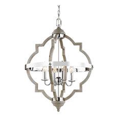 "Sea Gull Lighting 5124904 Socorro 4 Light 21"" Wide Taper Candle Chandelier"