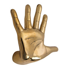 Hand On The Wall Decor