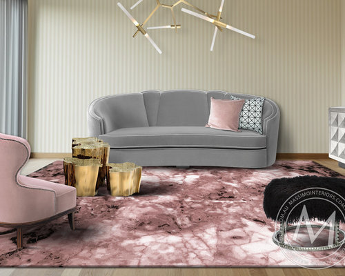 ONICE ROSA - from the Esotica Rug Collection - Floor Rugs